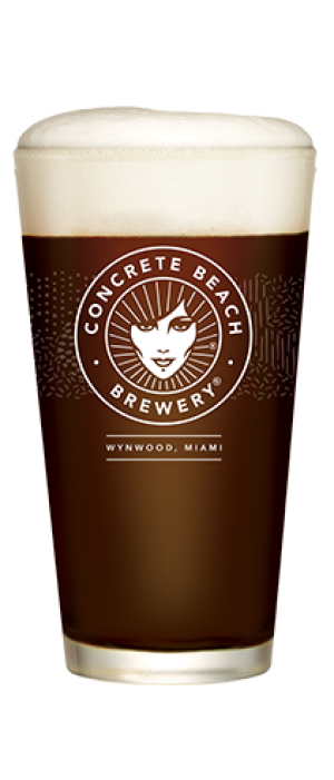Imperial Brown Ale by Concrete Beach Brewery in Florida, United States