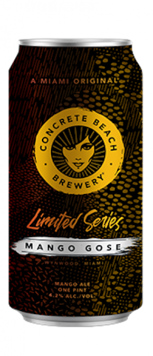 Mango Gose by Concrete Beach Brewery in Florida, United States