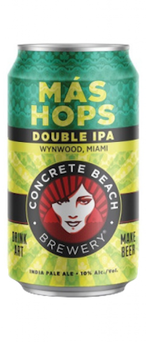 Más Hops by Concrete Beach Brewery in Florida, United States