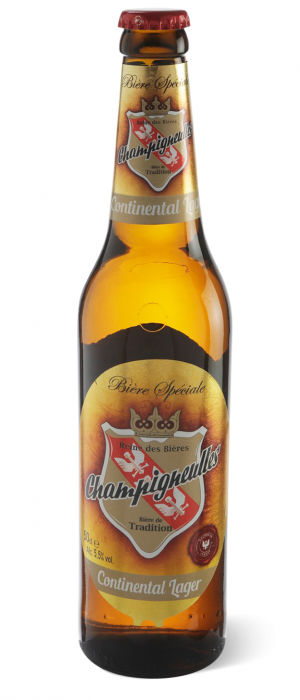 Continental Lager by Brasserie Champigneulles in Meurthe-et-Moselle, France
