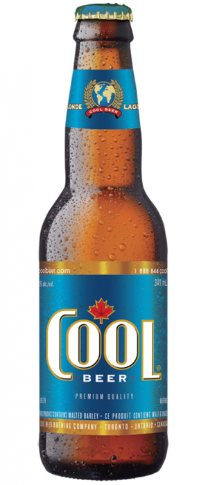 Cool Lager by Cool Beer Brewing Company in Ontario, Canada