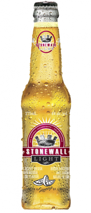 Stonewall Light by Cool Beer Brewing Company in Ontario, Canada