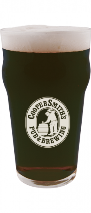 Along the Way Black Ale by CooperSmith's Pub & Brewing in Colorado, United States