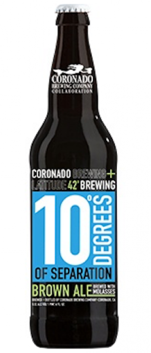 10 Degrees of Separation by Coronado Brewing Company in California, United States