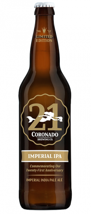 21st Anniversary IPA by Coronado Brewing Company in California, United States
