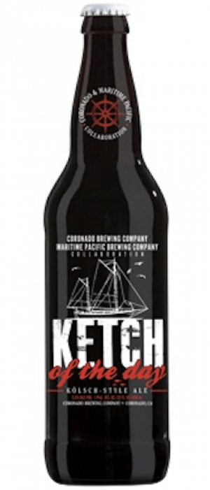 Ketch Of The Day by Coronado Brewing Company in California, United States