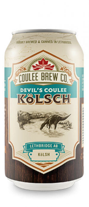 Devil's Coulee Kölsch by Coulee Brew Co. in Alberta, Canada