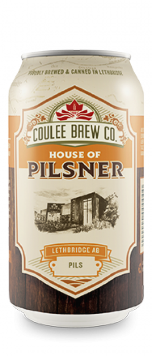 House of Pilsner by Coulee Brew Co. in Alberta, Canada