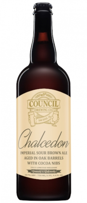 Chalcedon by Council Brewing Company in California, United States