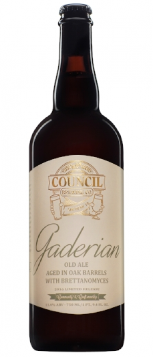 Gaderian by Council Brewing Company in California, United States