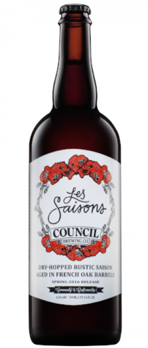 Les Saisons by Council Brewing Company in California, United States