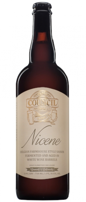 Nicene by Council Brewing Company in California, United States