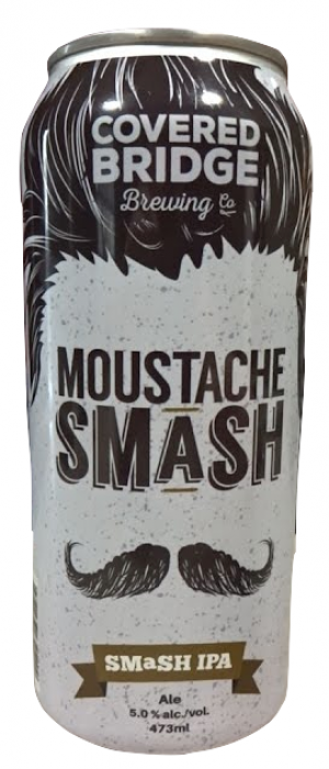 Moustache Smash by Covered Bridge Brewing in Ontario, Canada