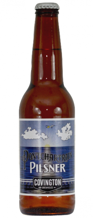 Pontchartrain Pilsner by Covington Brewhouse in Louisiana, United States