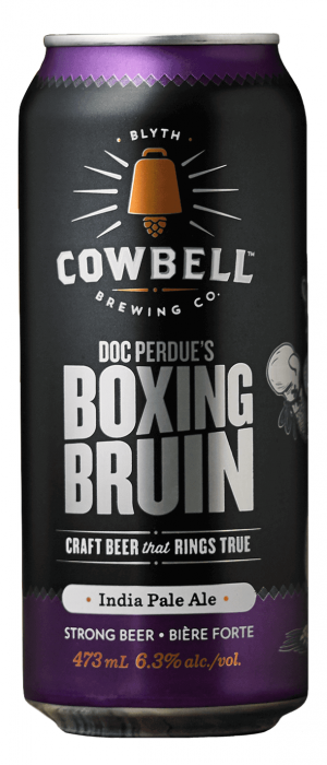 Doc Perdue's Boxing Bruin by Cowbell Brewing Company in Ontario, Canada