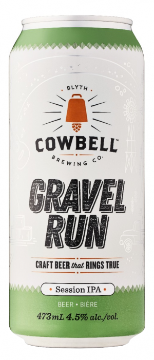 Gravel Run by Cowbell Brewing Company in Ontario, Canada