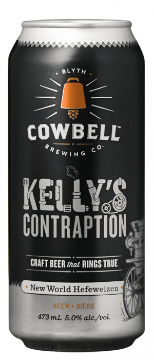 Kelly's Contraption by Cowbell Brewing Company in Ontario, Canada