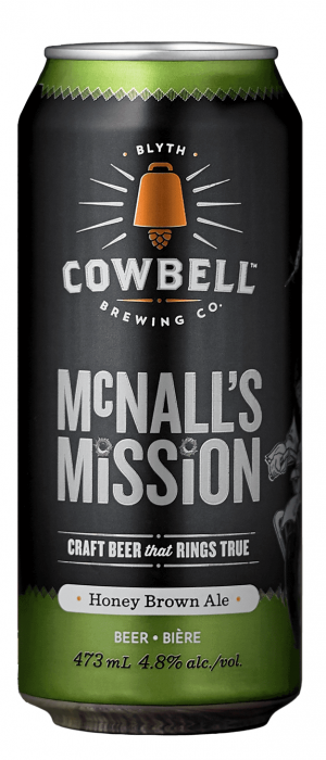 McNall's Mission by Cowbell Brewing Company in Ontario, Canada