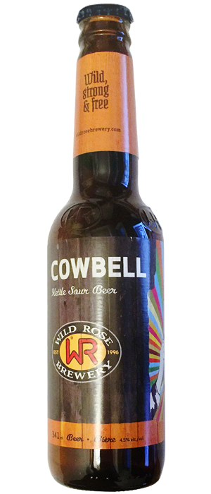 Cowbell by Wild Rose Brewery in Alberta, Canada