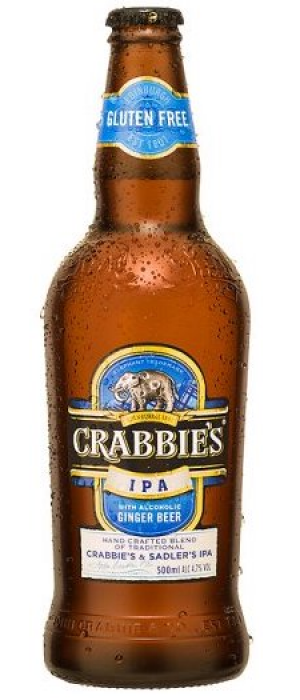 Ginger IPA by Crabbie's in Merseyside - England, United Kingdom