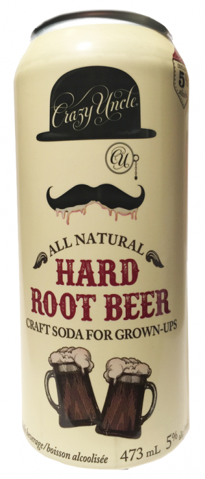 Hard Root Beer by Crazy Uncle Cocktails in Ontario, Canada