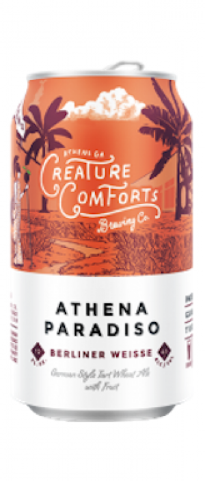 Athena Paradiso by Creature Comforts Brewing Co. in Georgia, United States