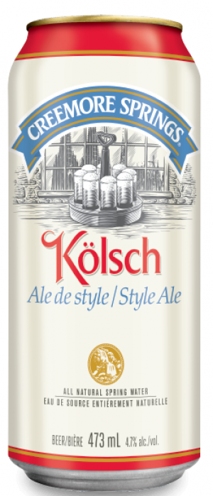 Kölsch by Creemore Springs in Ontario, Canada