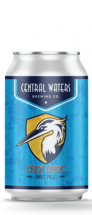 Crew Drive Brut Pils by Central Waters Brewing Company in Wisconsin, United States