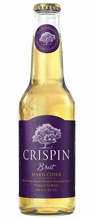 Crispin Brut by Crispin Cider Company in Illinois, United States