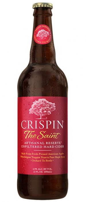 Crispin The Saint by Crispin Cider Company in Illinois, United States