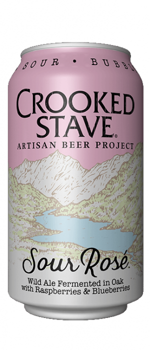 Sour Rosé by Crooked Stave Artisan Beer in Colorado, United States