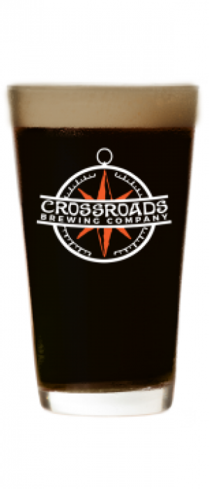Black Rock Stout by Crossroads Brewing Company in New York, United States