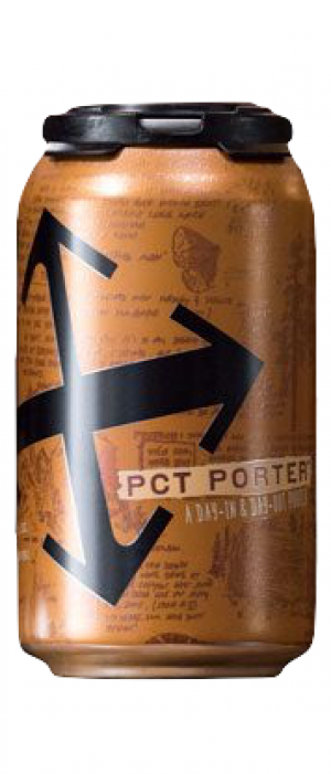 PCT Porter by Crux Fermentation Project in Oregon, United States