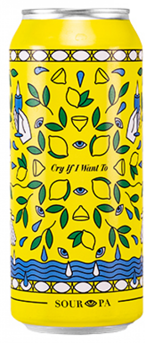 Cry If I Want To Sour IPA by Wellington Brewery in Ontario, Canada