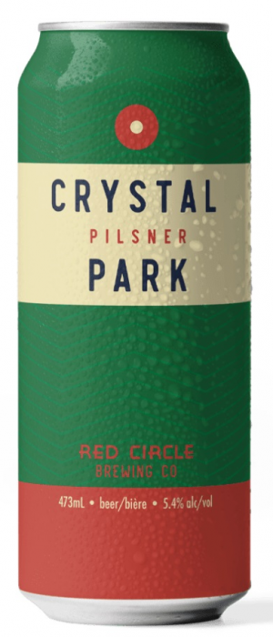 Crystal Park Pilsner by Red Circle Brewing & Coffee in Ontario, Canada