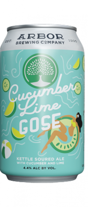 Cucumber Lime Gose by Arbor Brewing Company in Michigan, United States