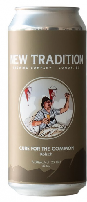 Cure for the Common Kolsch by New Tradition Brewing Company in British Columbia, Canada