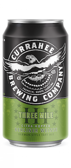 Three Mile by Currahee Brewing Company in North Carolina, United States