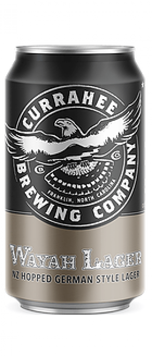Wayah Lager by Currahee Brewing Company in North Carolina, United States