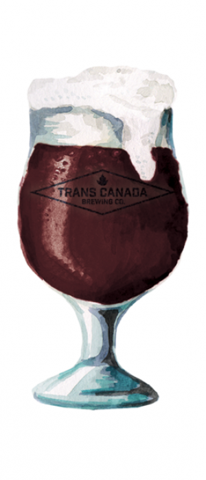 Czech Dark Lager by Trans Canada Brewing Co. in Manitoba, Canada