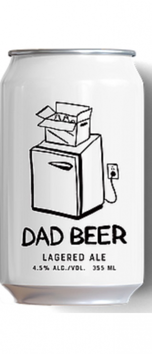 Dad Beer Lagered Ale by Best of Kin in Alberta, Canada