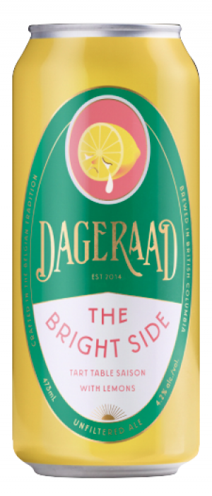 The Bright Side by Dageraad Brewing in British Columbia, Canada