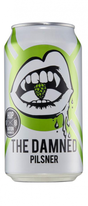 The Damned by Hop Nation Brewing Co. in Victoria, Australia