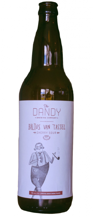 Baltus Van Tassel Cherry Sour by The Dandy Brewing Company in Alberta, Canada