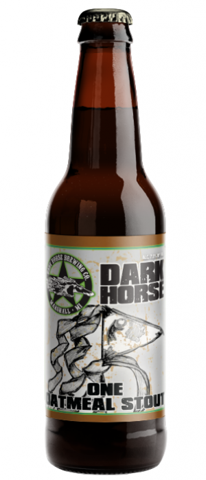 One Oatmeal Stout by Dark Horse Brewing Company in Michigan, United States