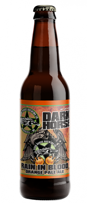 Rain In Blood by Dark Horse Brewing Company in Michigan, United States