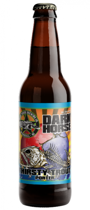 Thirsty Trout by Dark Horse Brewing Company in Michigan, United States