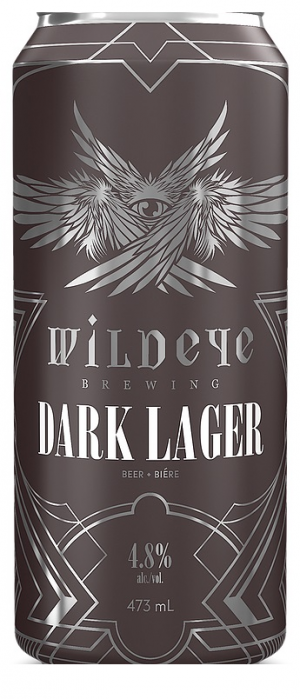 Dark Lager by Wildeye Brewery in British Columbia, Canada