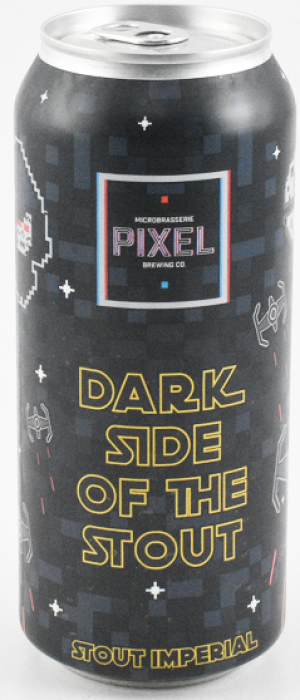 Dark Side of the Stout by Microbrasserie Pixel in Québec, Canada