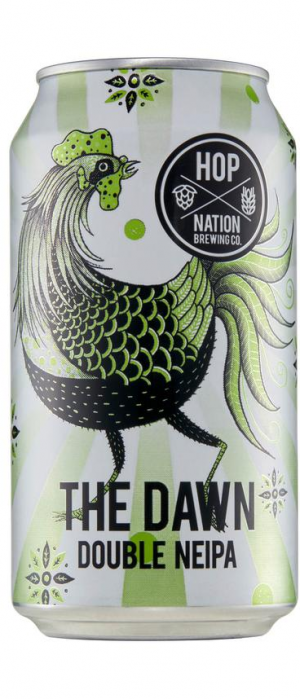 The Dawn Double NEIPA by Hop Nation Brewing Co. in Victoria, Australia
